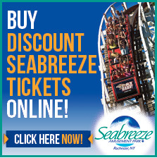 Buy discount tickets to Seabreeze!