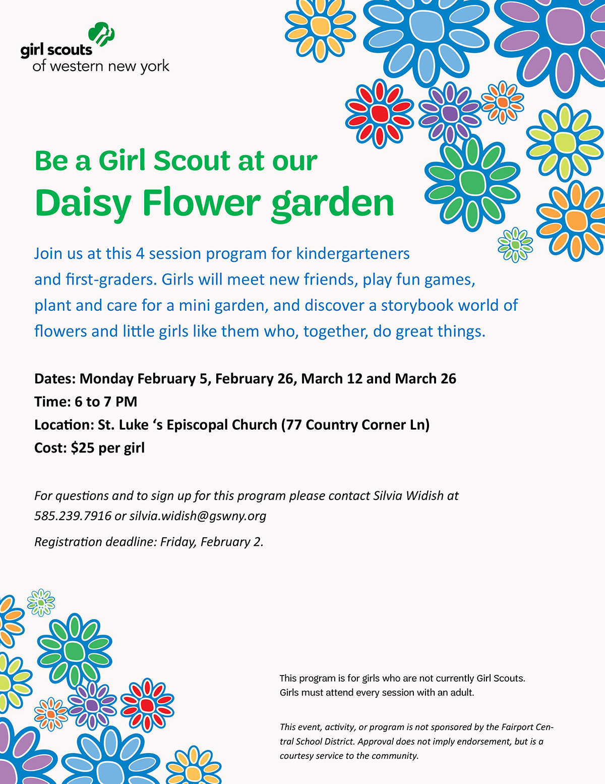 Become a girl scout join our daisy flower garden series kids out become a girl scout join our daisy flower garden series kids out and about buffalo izmirmasajfo