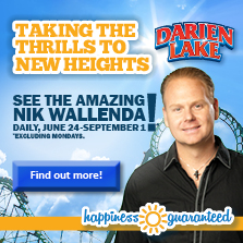 Nik Wallenda at Darien Lake!