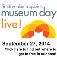 Smithsonian Museum Day is September 27, 2014