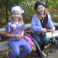 Come dressed up! Young pirates at Holiday Hollow