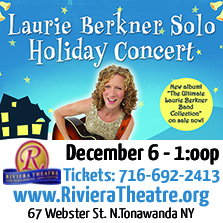 Laurie Berkner at the Riviera Theatre