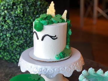 Wondrous Irish Unicorn Cake Decorating Class Kids Out And About Buffalo Personalised Birthday Cards Veneteletsinfo